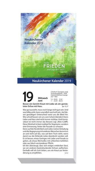neukirchener kalender 2019 abrei kalender gro logo. Black Bedroom Furniture Sets. Home Design Ideas