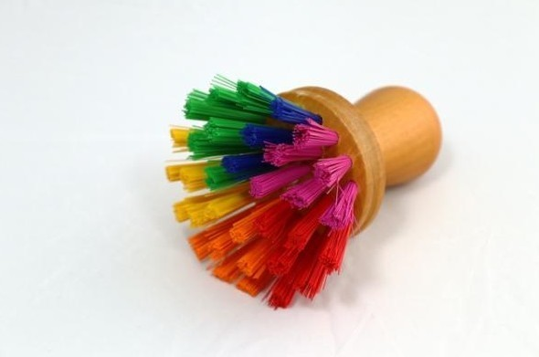 Vorschau: Pot Scouring Brush Multi-coloured (HH1006) - Detailansicht 1